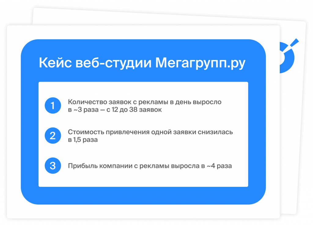Внедрение сквозной аналитики: как изменились бизнес-показатели веб-студии Мегагрупп.ру